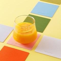 [케라미카]실리콘 컵받침 티코스터 스퀘어4Pset(13color_(1798780)