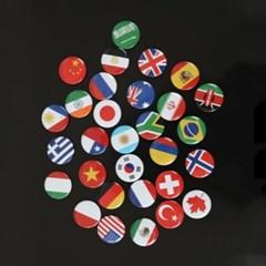 국기자석 30개국 1세트_(1939003)
