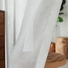 [광폭커튼] 레아시어커튼_화이트