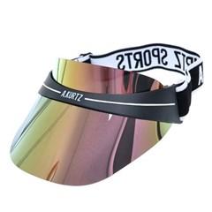 [더그레이]PJX02.미러 플라스틱 남성 여성 스포츠 썬캡