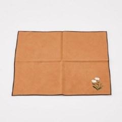 GZBL-014 꽃 자수 다포-브라운