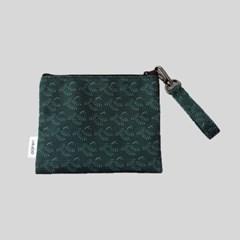 '스마일 고슴도치' pattern pouch