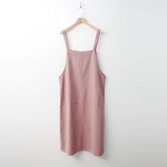 Cotton Overall Long Dress