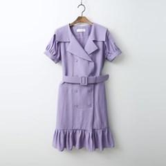 Lucia Button Dress