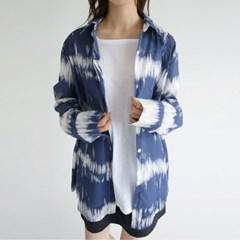sensual tie-dye loose shirts (navy)_(1297909)