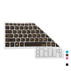 삼성 노트북5 NT550EBE-K34용 문자인쇄키스킨_(1703018)
