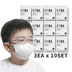 초미세먼지차단 4단필터 KF94어린이마스크 3매x10세트_(1050913)
