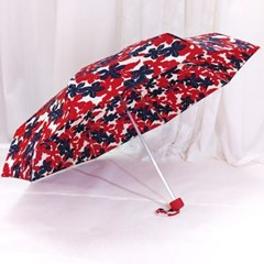 TW 메이플 UV 차단 5단 여행용 우산 양산