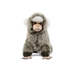 7474 흰귀마모셋 원숭이인형 19cm.L_(1386699)