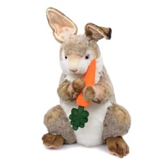 7528 당근 토끼인형(갈색) 50cm.H_(1386703)