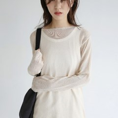 girlish fit loose knit (beige)_(1298323)