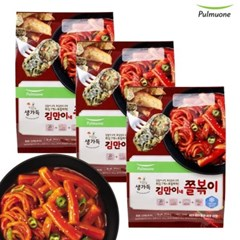 [풀무원]김만이네 쫄볶이 화끈하게매운맛 (3~4인)x3봉