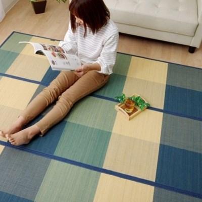 이케히코 시원한 대자리 거실 대나무카페트