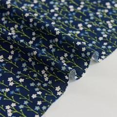 [Fabric] 꽃마리 코튼 Cucumber Herb Cotton