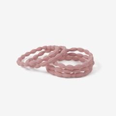 핑크 데일리 머리끈