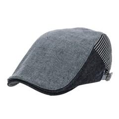 [더그레이]PMH43.ST 데님배색 헌팅캡 남성 모자