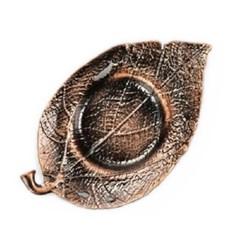 PJ190109-1 홍동 나뭇잎 찻잔 받침