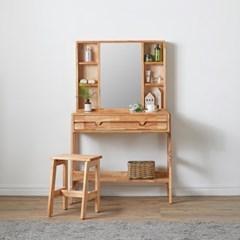 스칸디 원목 거울 수납화장대세트 800_fk004_(2277312)