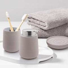 존덴마크 노바솝디스펜서+텀블러+비누홀더세트 크림