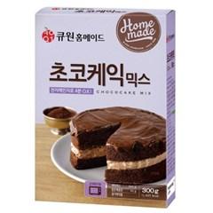 (한박스/10개입) 큐원 초코케익믹스 (전자레인지용)_(1360027)