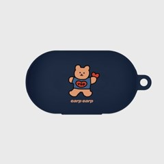 Bear heart-navy(buds jelly case)_(1220755)