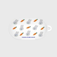 Rabbit carrot-white(buds hard case)_(1220719)