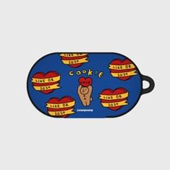 Bear cookie-dark blue(buds hard case)_(1220714)