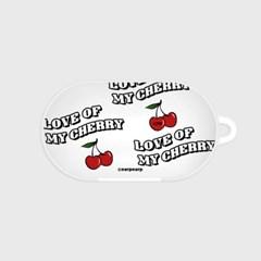 Love cherry-white(buds hard case)_(1220711)