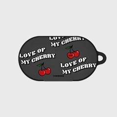 Love cherry-dark gray(buds hard case)_(1220710)
