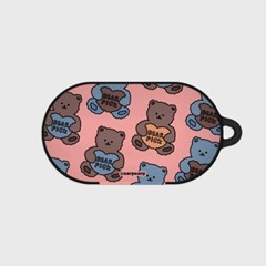 Bear pick-pink(buds hard case)_(1220702)