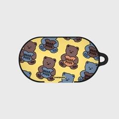 Bear pick-creamyellow(buds hard case)_(1220701)