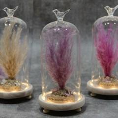 핑크뮬리 시들지않는꽃 인테리어 장식 화분_(1839197)