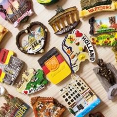 유럽 여행 냉장고자석, 마그넷, 마그네틱