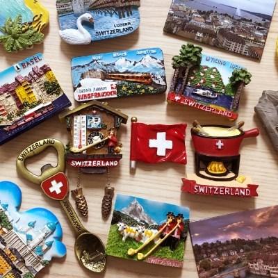 스위스 여행 냉장고자석, 마그넷, 마그네틱