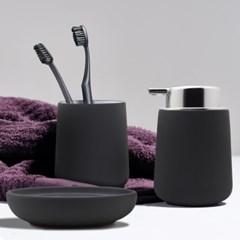 존덴마크 노바솝디스펜서+텀블러+비누홀더세트 그레이
