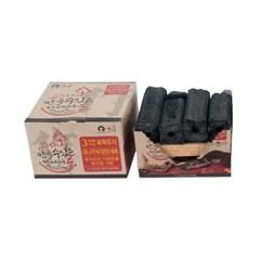 [모락] 성냥 하나로 불 붙이는 대나무비장탄 바베큐용 숯 4~5인용