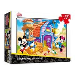 [Disney] 디즈니 미키마우스 직소퍼즐(150피스/D150-11)_(1408376)