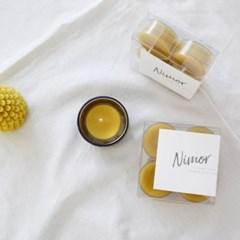 [Honey Bees Candle 티라이트 밀랍초] 건강한 100% 밀랍캔들