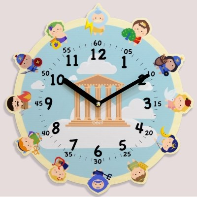 [BEZIT] 원더타임시리즈 올림포스의 12신 무소음 벽시계