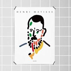 유니크 인테리어 디자인 포스터 M 자화상 앙리 마티스