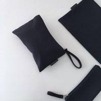 퀼팅 네이비 미니 클러치(Quilting navy mini clutch)