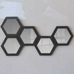 콘크리트 허니콤 거울