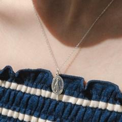 925실버 마리아 팬던트 은목걸이 (SN235 Silver Maria)