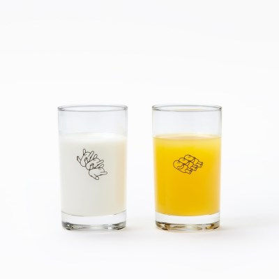 [유리컵] 스튜디오 빅 시그니처 포즈 글래스