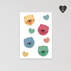 (유기견후원)독맨 엽서-candy