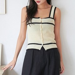 cemi color sleeveless knit_(1304496)