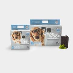 [WOOFWOOF] 우프우프 강아지 마킹방지 배변패드 숯패드 60x60 50매