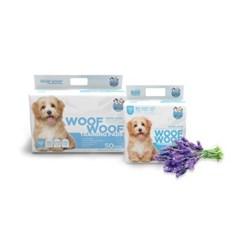 [WOOFWOOF] 우프우프 강아지 마킹방지 배변패드 라벤더향 60x60 50매