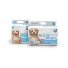 [WOOFWOOF] 우프우프 강아지 마킹방지 배변패드 무향 60x60 30매