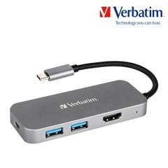 버바팀 USB-C 허브 PD 100W HDMI USB3.0